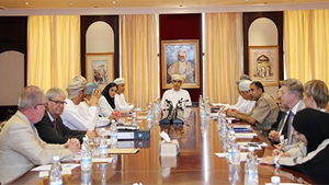 Meeting bij de Supreme Council for Planning Oman
